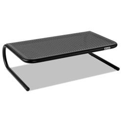 Allsop Metal Art Monitor Stand, 18 1/2 x 12 1/4 x 5 1/4, Black