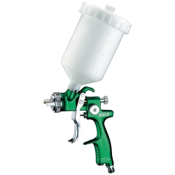 Astro Pneumatic EuroPro Forged HVLP Spray Gun with 1.3mm Nozzle and Plastic Cup