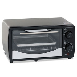 Avanti Products Toaster Oven, 0.32 cu ft Capacity, Stainless Steel/Black, 14 1/2 x 11 1/2 x 8