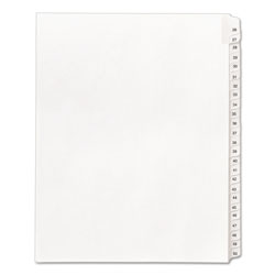 Avery Allstate Legal Side Tab Dividers, 26-50, White