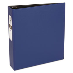"Avery 42% Recycled Economy Round Ring Reference Binder, 2"" Capacity, Blue"