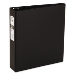 "Avery 42% Recycled Economy Round Ring Reference Binder, 2"" Capacity, Black"