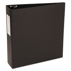 "Avery 42% Recycled Economy Round Ring Reference Binder, 3"" Capacity, Black"