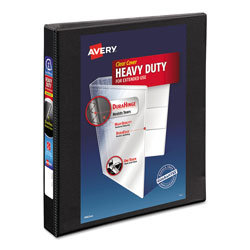 "Avery Nonstick Heavy Duty 1"" View Binder, Black"
