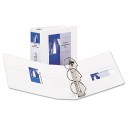"Avery Easy Insert™ 5"" View Binder, White"