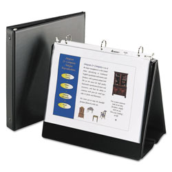 "Avery Easel 1"" View Binder, Black"