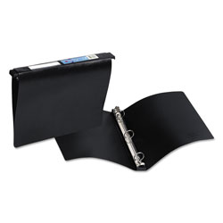 "Avery Hanging File Poly Ring Binder, 1"" Capacity, Black"