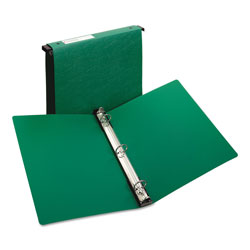 "Avery Hanging File Poly Ring Binder, 1"" Capacity, Green"