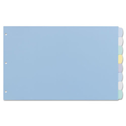 "Avery Write On Divider, 8 Tab, 11"" x 17"", 1/ST, Multi"