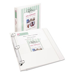 "Avery Flip Back 1"" View Binder, White"