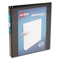 "Avery Showcase 1"" View Binder, Black"
