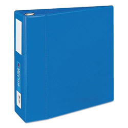 "Avery Heavy-Duty Binder with One Touch EZD Rings, 4"" Capacity, Blue"