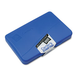 "Avery Carter's® Micropore Long Lasting Stamp Pad, 2 3/4""x4 1/4"", Blue Ink"