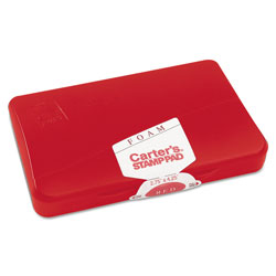 "Avery Carter's® Foam Stamp Pad, 2 3/4""x4 1/4"", Red Ink"