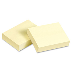 "Avery Sticky Notes, 3""x5"", Yellow"