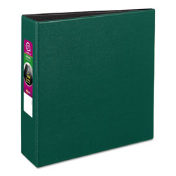 "Avery 45% Recycled Durable Round Ring Reference Binder, 3"" Capacity, Green"