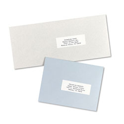 "Avery Self Adhesive Address Labels for Copiers, White, 1""x2 13/16"", 8250 per Pack"