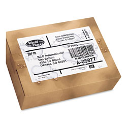 "Avery Weatherproof Laser Shipping Labels, 5 1/2""x8 1/2"", 100 per Pack"