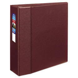 "Avery 45% Recycled One Touch EZD™ Heavy Duty D Ring Reference Binder, 4"" Capacity, Red"