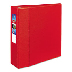 "Avery 45% Recycled One Touch EZD™ Heavy Duty D Ring Reference Binder, 3"" Capacity, Red"
