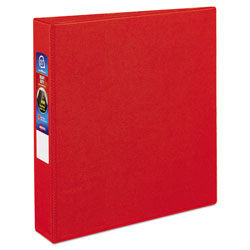"Avery 45% Recycled One Touch EZD™ Heavy Duty D Ring Reference Binder, 1 1/2"" Capacity, Red"