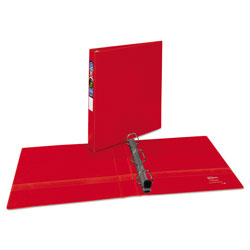 "Avery 45% Recycled One Touch EZD™ Heavy Duty D Ring Reference Binder, 1"" Capacity, Red"