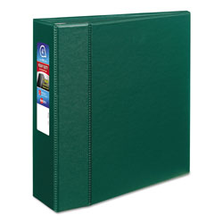 "Avery 45% Recycled One Touch EZD™ Heavy Duty D Ring Reference Binder, 4"" Capacity, Green"