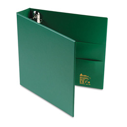 "Avery 45% Recycled One Touch EZD™ Heavy Duty D Ring Reference Binder, 1 1/2"" Capacity, Green"