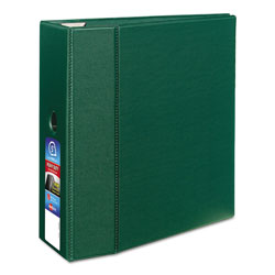 "Avery 45% Recycled One Touch EZD™ Heavy Duty D Ring Reference Binder, 5"" Capacity, Green"