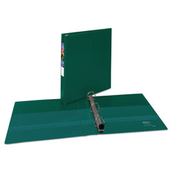 "Avery 45% Recycled One Touch EZD™ Heavy Duty D Ring Reference Binder, 1"" Capacity, Green"