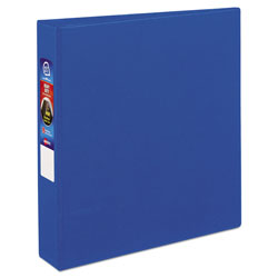 "Avery 45% Recycled One Touch EZD™ Heavy Duty D Ring Reference Binder, 1 1/2"" Capacity, Blue"