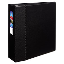 "Avery 45% Recycled One Touch EZD™ Heavy Duty D Ring Reference Binder, 4"" Capacity, Black"