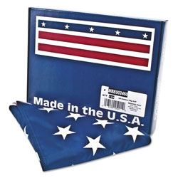 Advantus All Weather Outdoor U.S. Flag, 100% Heavyweight Nylon, 3 ft. x 5 ft.
