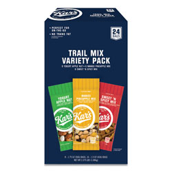 Kar's Trail Mix Variety Pack, Assorted Flavors, 24/Box