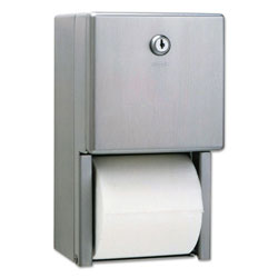 Bobrick ClassicSeries Surface-Mounted Multi-Roll Toilet Tissue Dispenser