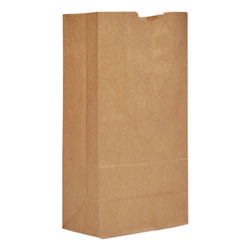 Paper Bags & Sacks GK20 Natural Tall Standard Duty Paper Grocery Bags, 20#