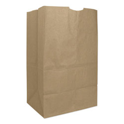 Duro GK20S 20# Natural Paper Grocery Bags, Squat
