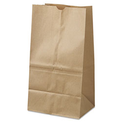 General 25# Natural Squat Paper Bag 500/Bundle