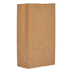 Duro #12 Paper Grocery, 60lb Kraft, Extra Heavy-Duty 7 1/16x4 1/2 X12 3/4, 1,000 Bags