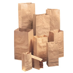 Duro GX6 6# Natural Paper Grocery Bags, Extra Heavy-Duty