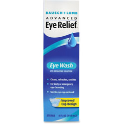 Bausch & Lomb 620252 4 Ounce Eye Wash, Removes Foreign Particles