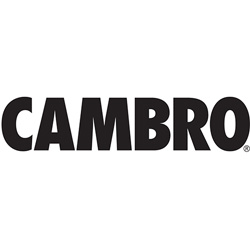Cambro Bar730St Post Tnk 8 110-Bkggy