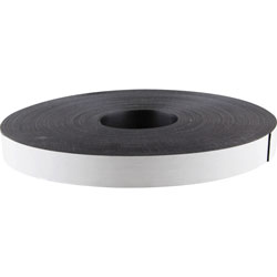 "Baumgarten's Adhesive Magnetic Tape, Flexible, 1""x100', Black"
