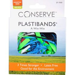Baumgarten's PlastiBands, Assorted Sizes, Assorted