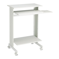 Buddy 6438-18 Euroflex Stand Up Mobile Workstation, Gray, 29-1/2w x 19-5/8d x 44-1/4h