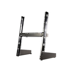 Startech 12U 19in Desktop Open Frame 2 Post Rack - relay rack - 12U