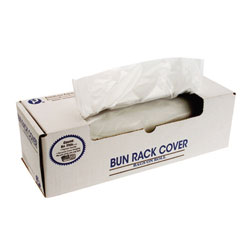 Inteplast BR52X80 Bun Rack Clear Cover Bakery Bags