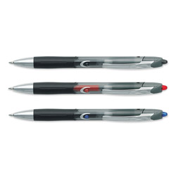 Bic 537RT Gel Pen, 0.70 mm Pen Point Size, Black Ink