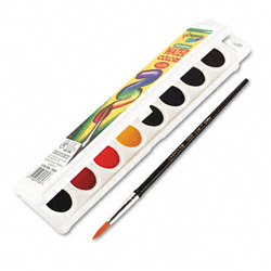 Binney and Smith Watercolors, 8 Assorted Colors