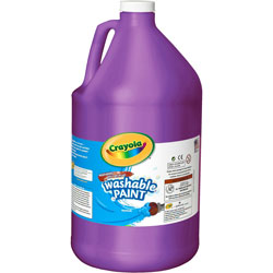 Binney and Smith Washable Paint, Violet, 1 gal
